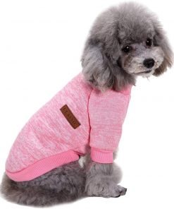 Fashion Focus On Pet Dog Clothes Knitwear Dog Sweater Soft Thickening Warm Pup Dogs Shirt Winter Puppy Sweater for Dogs 2