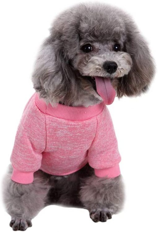 Fashion Focus On Pet Dog Clothes Knitwear Dog Sweater Soft Thickening Warm Pup Dogs Shirt Winter Puppy Sweater for Dogs 3