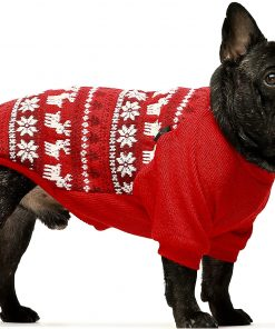 Fitwarm Dog Sweater Puppy Knitwear Pet Winter Clothes Doggie Outifts Pullovers 2