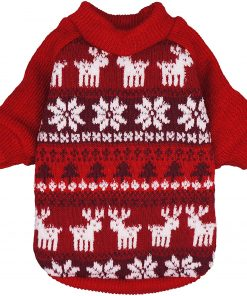 Fitwarm Dog Sweater Puppy Knitwear Pet Winter Clothes Doggie Outifts Pullovers 3