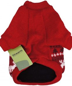 Fitwarm Dog Sweater Puppy Knitwear Pet Winter Clothes Doggie Outifts Pullovers 5