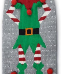 HAPEE Dog Sweaters for Christmas Santa Pet Cat Clothes,Dog Accessories, Dog Apparel 5