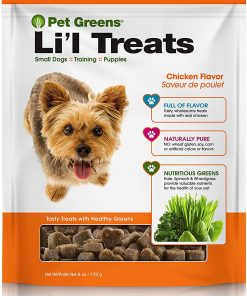 Pet Greens Soft-Chew Dog Li'l Treats