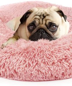 Dog Bed for Small Medium Large Jumbo Size Dog Anti Anxiety Calming Orthopedic Faux Fur Doggie Bed