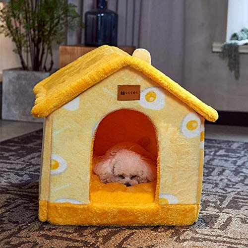 Foldable Dog House Kennel Bed Mat for Small Medium Dogs Cats Warm Chihuahua Cat Nest Pet Products Basket Puppy Cave Sofa 3