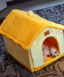 Foldable Dog House Kennel Bed Mat for Small Medium Dogs Cats Warm Chihuahua Cat Nest Pet Products Basket Puppy Cave Sofa 4