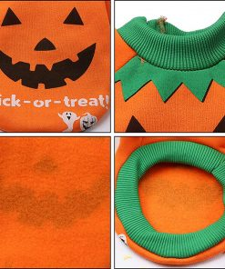 2 Pack Halloween Dog Shirts Clothes for Small Dogs, Puppy Knitwear Dog Sweater Soft Warm Pet Clothes Apparel Costumes for Chihuahua 2