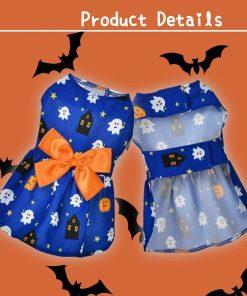 Ruizik 3 Pack Halloween Dog Dress,Halloween Costume for Dogs Female Male,Dog Halloween Costume xs,Halloween Christmas Cosplay 6