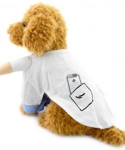 SELMAI Puppy Pet Dog Cat Doctor Suit Costume Fancy Dress Small Dog Coat Medicine Box Decorated All Seasons 5
